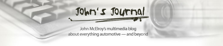 John's Journal: John McElroy's multimedia blog about the automotive industry