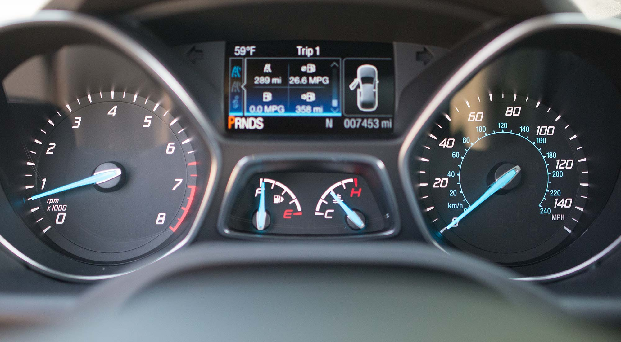 2014 Ford Escape Gauges