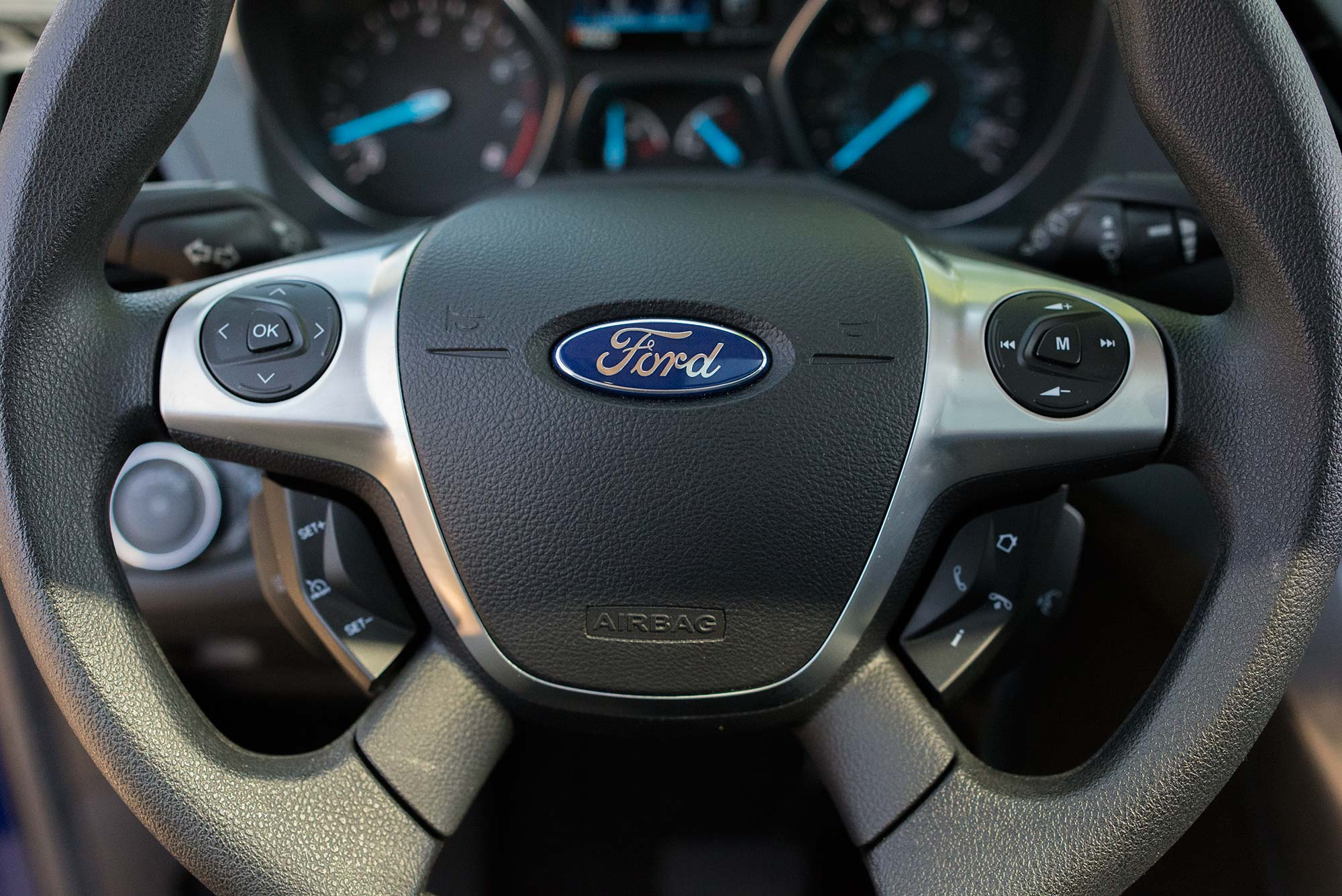 2014 Ford Escape Steering wheel