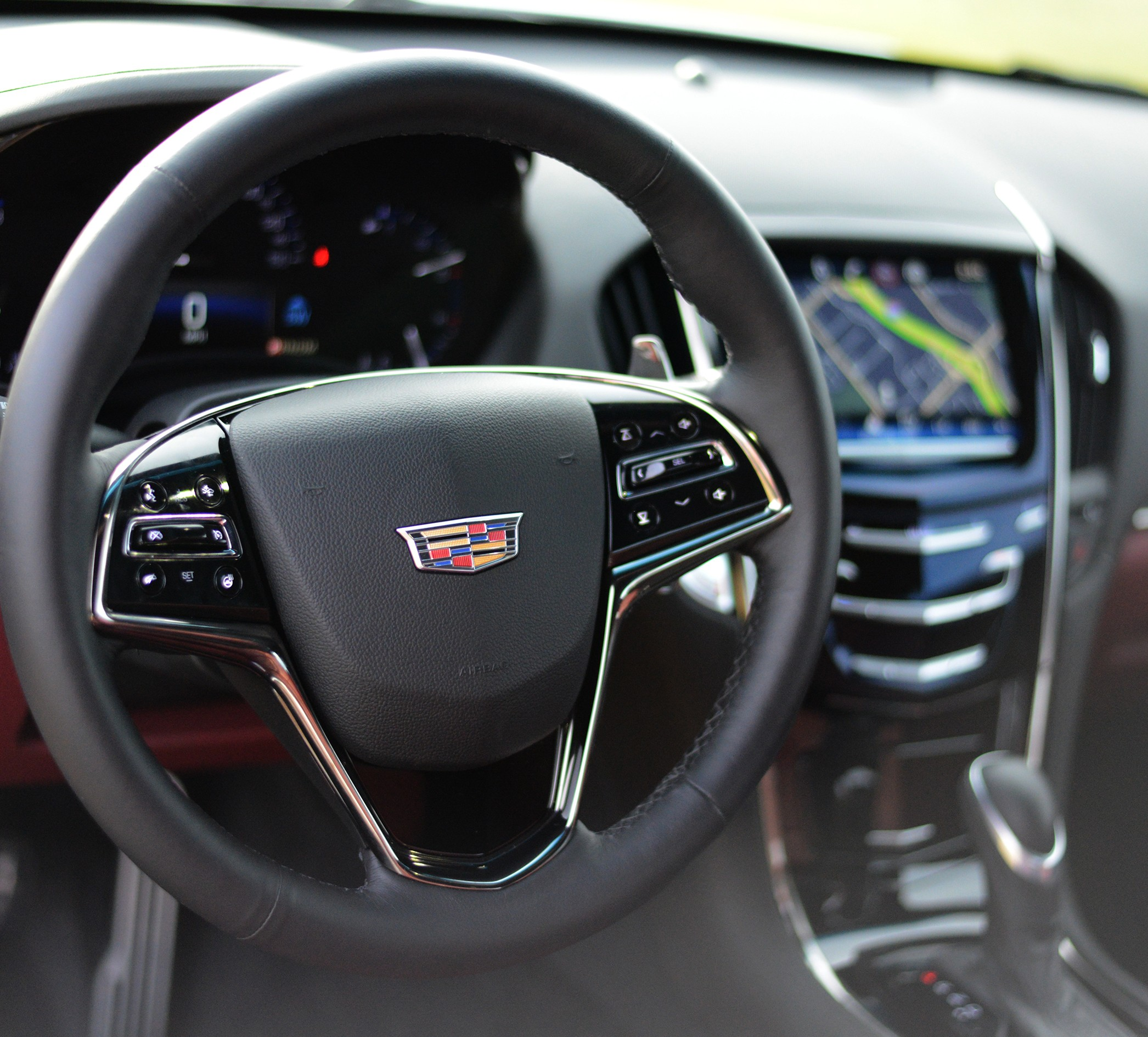 Cadillac ATS Coupe Interior