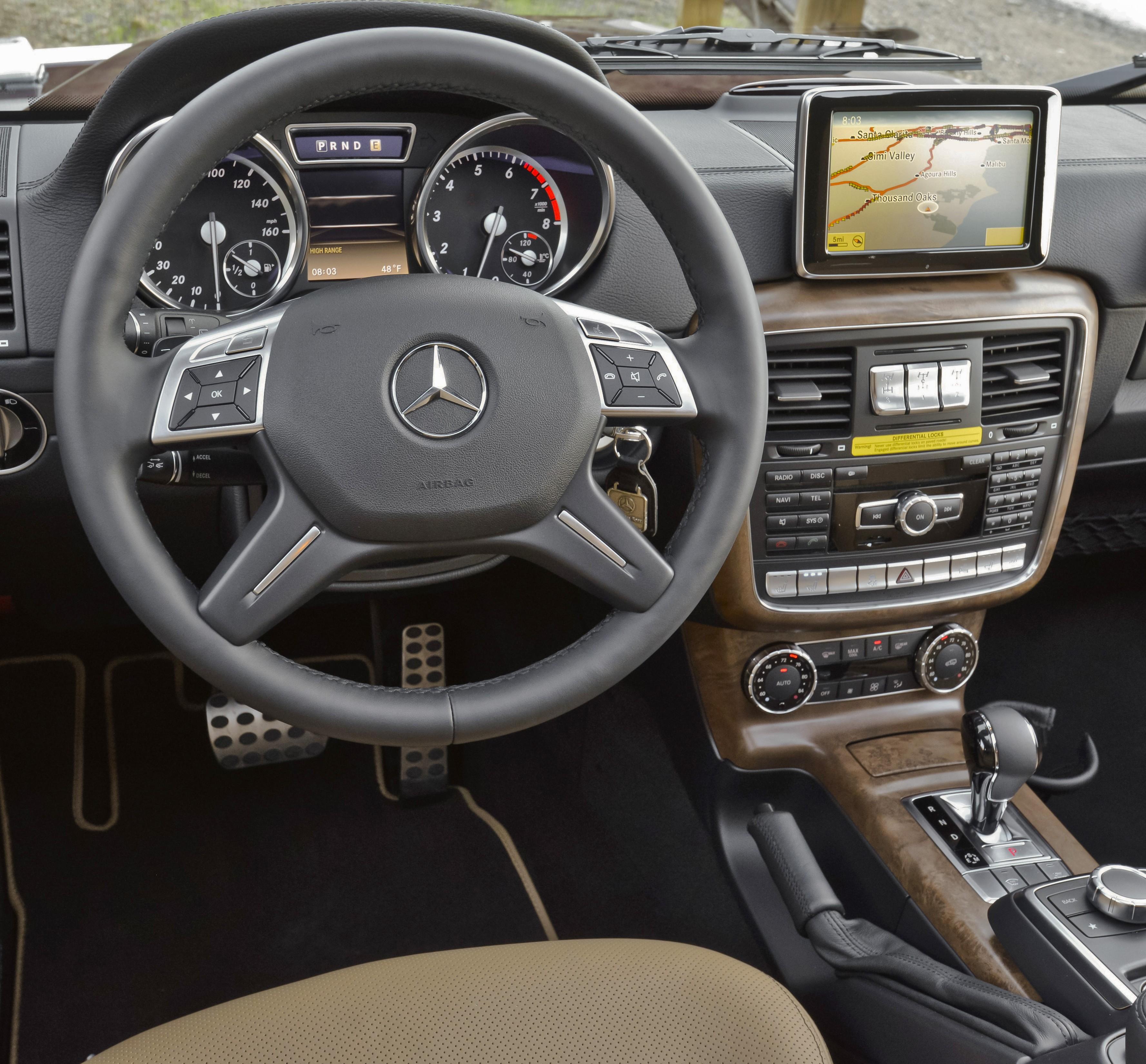 2013 Mercedes-Benz G550.