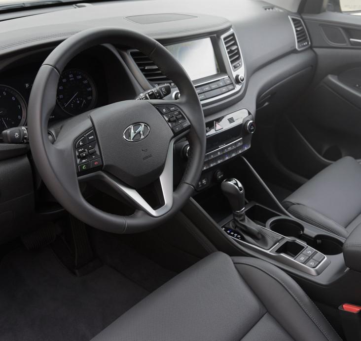 MY16 Hyundai Tucson