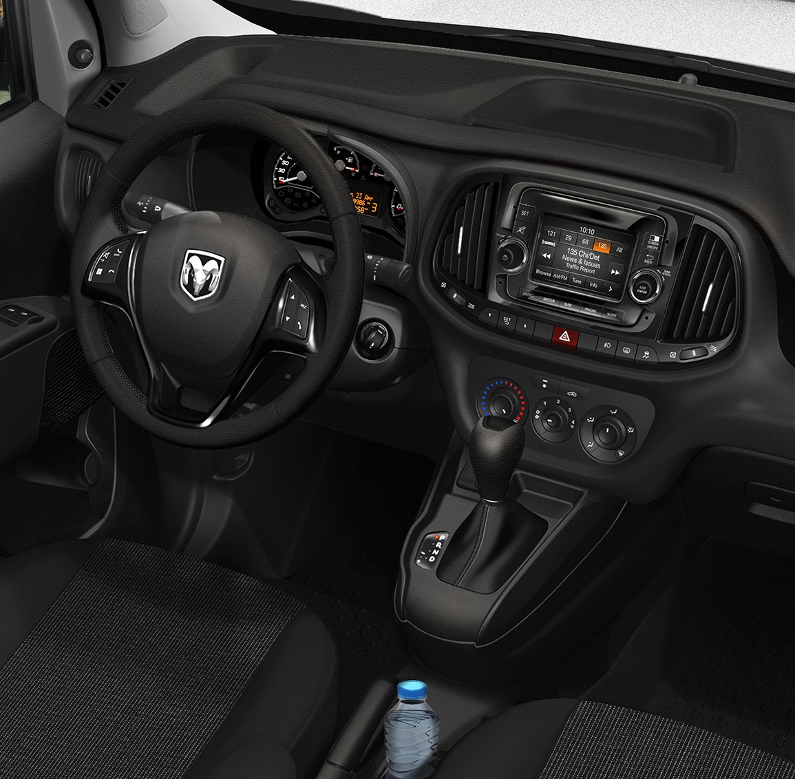 2015 Ram ProMaster City SLT interior