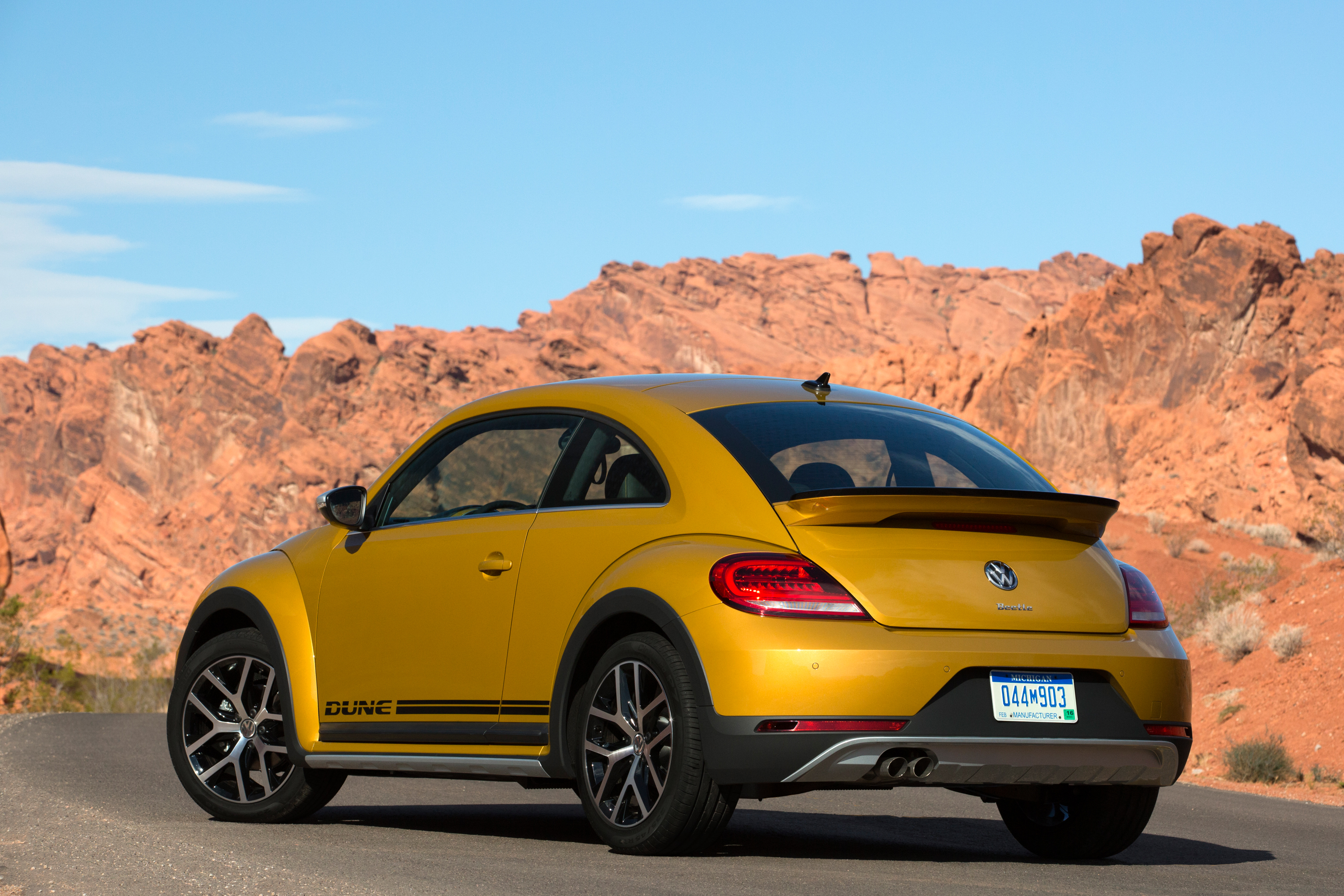 2016 VW Beetle Dune - Rear