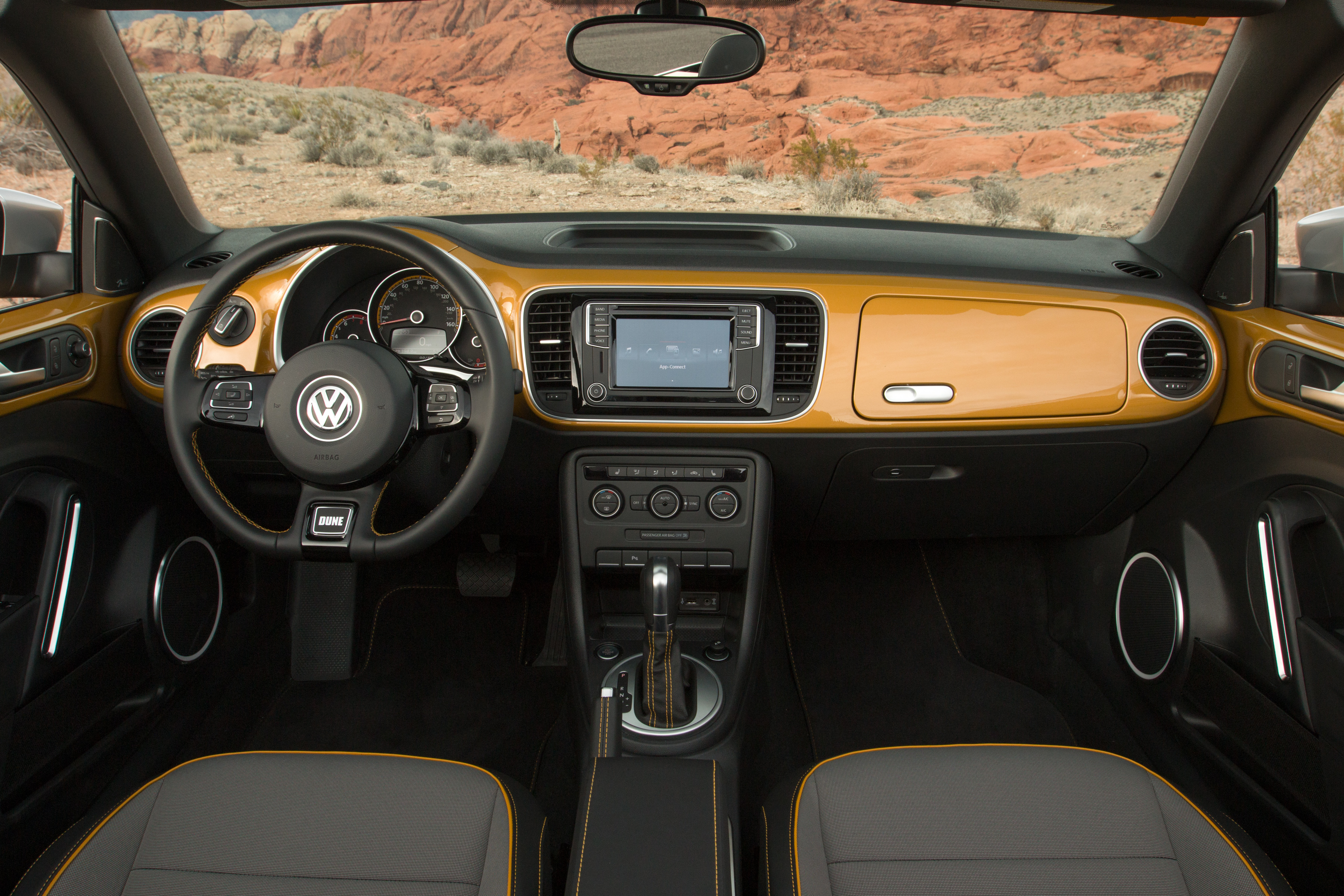 2016 VW Beetle Dune - Interior