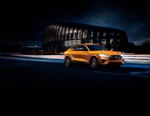2021 Mustang Mach-E GT Cyber Orange