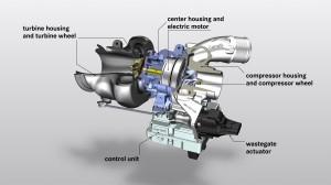 Mit dem elektrischen Abgasturbolader steigert Mercedes-AMG Effizienz und Performance: Innovative Detaillösung für die Elektrifizierung des Antriebs With the electric exhaust gas turbocharger Mercedes-AMG is increasing efficiency and performance: Innovat
