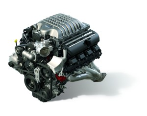 """Hellcrate Redeye"" 6.2-liter Supercharged HEMI® V-8 engine (Part"
