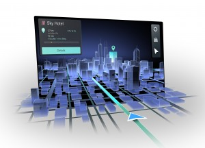 3D Display Navigation