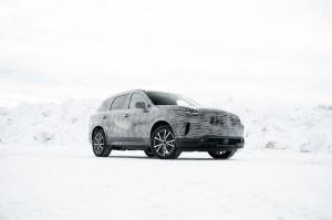 The all-new QX60 Development Series - Intelligent AWD