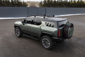 The GMC HUMMER EV SUV gives customers choices for performance, utility and customization offering nearly 200 available accessories available at launch.