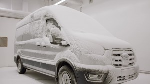 Ford E-Transit testing involves extreme heat and cold