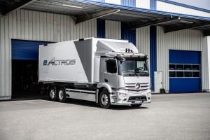 Mercedes-Benz eActros Weltpremiere 2021 Mercedes-Benz eActros world premiere 2021