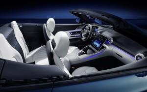 Exklusive Einblicke in das Interieur des neuen Mercedes-AMG SL Exclusive insights into the interior of the new Mercedes-AMG SL
