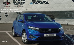 THE ALL-NEW SANDERO WINS THE GOOD DEAL AUTOMOBILE AWARD 2020