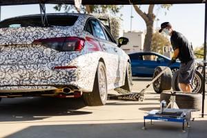 04 2022 Honda Civic Si Race Car - Team Honda Research West