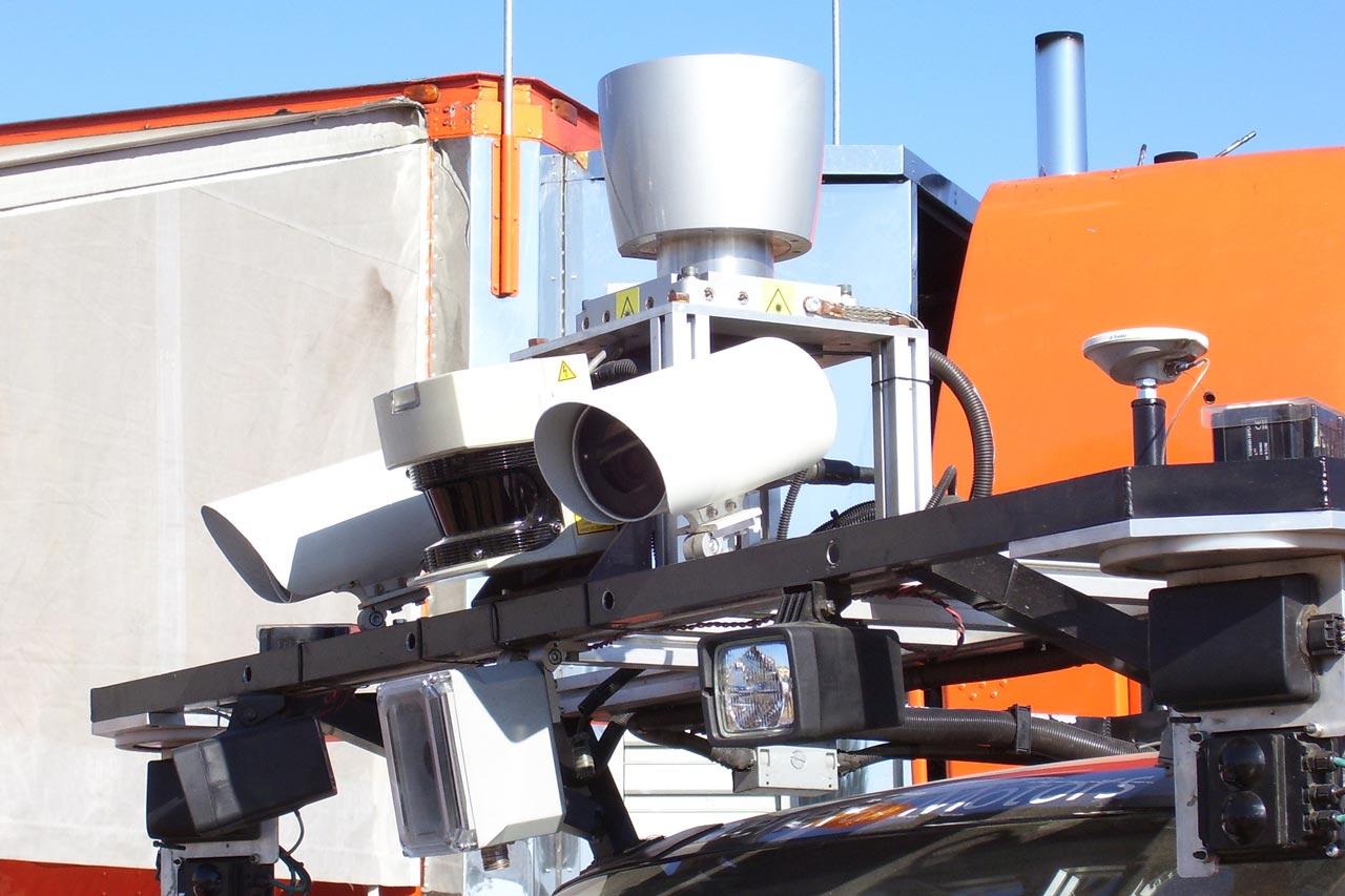 DARPA 2007 - Tartan Racing Sensors
