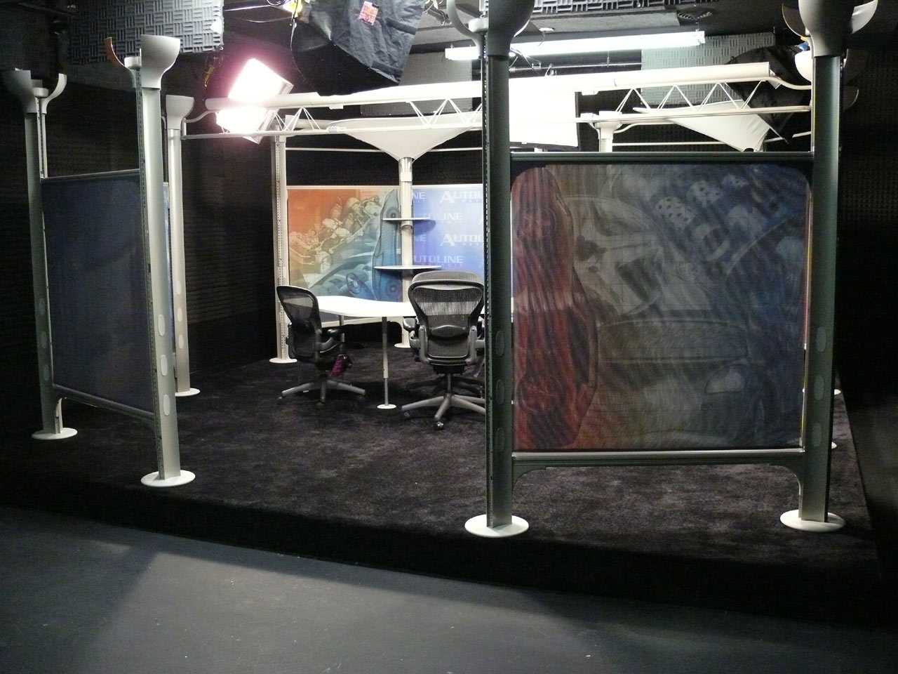 Wide View of the Set