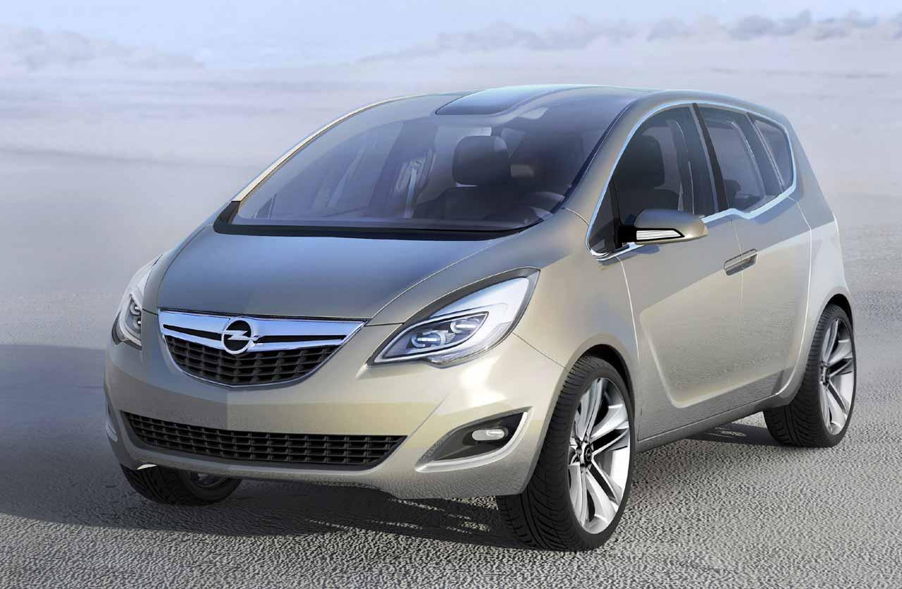 Opel Meriva Front 3/4