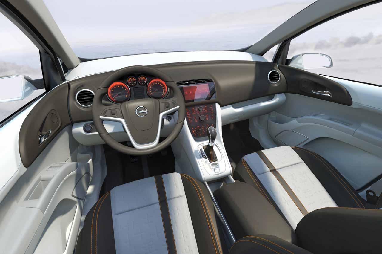 Opel Meriva Interior