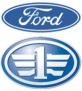 Ford and FAW Logos