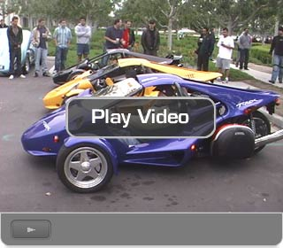 Video Player Cars and Coffee