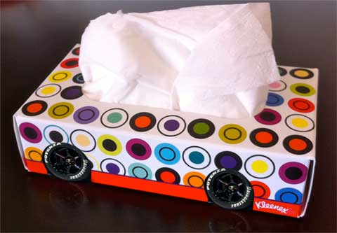 Kleenex-Car-Autoline