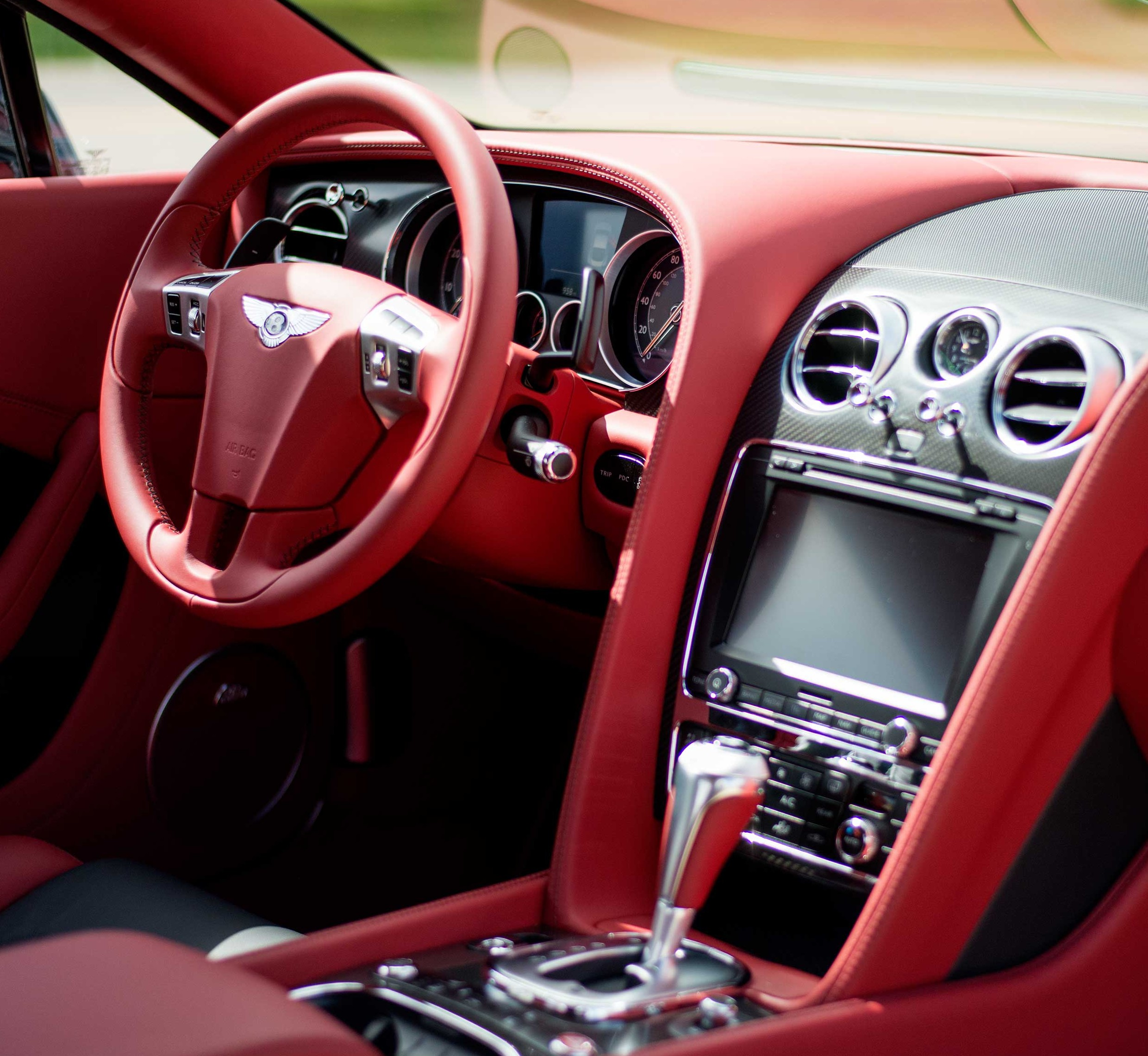 Seat Time: 2014 Bentley Continental GT V8 S
