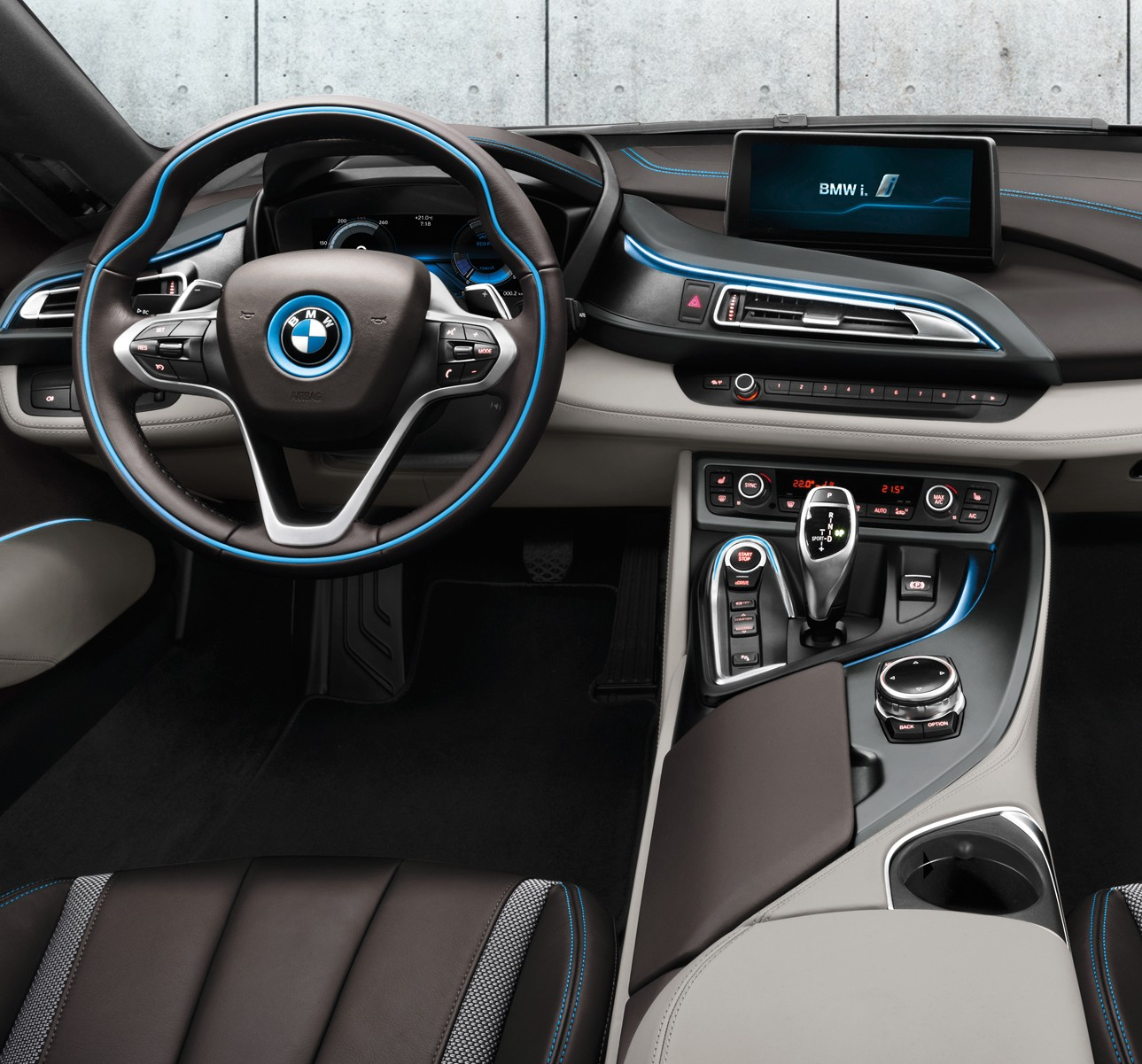 Seat time 2015 bmw i8 john 39 s journal on autoline for Bmw i8 interior